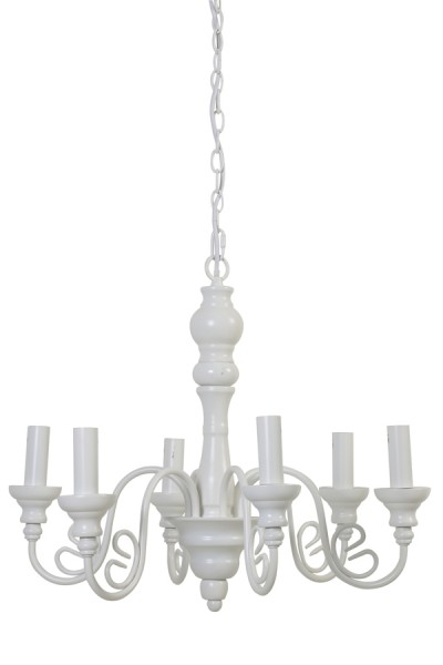 Light & Living Hanglamp 'Maxima' 6L E14 �55x45 cm, wit