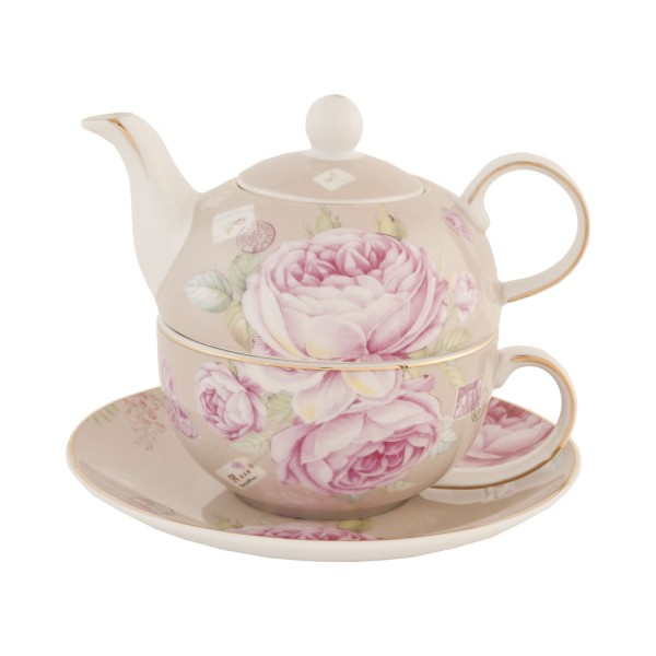 Clayre & Eef Tea for one � 16x15 cm